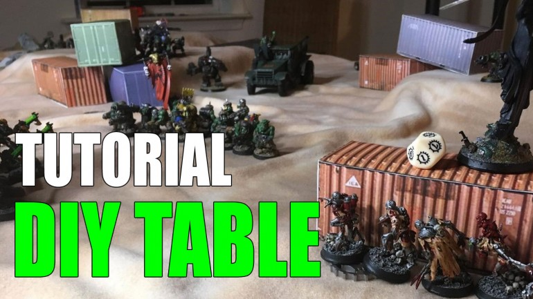 Cheap & Easy Wargaming Table with Simple DIY Terrain