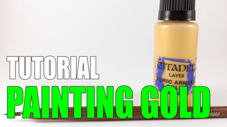 How to Paint Gold