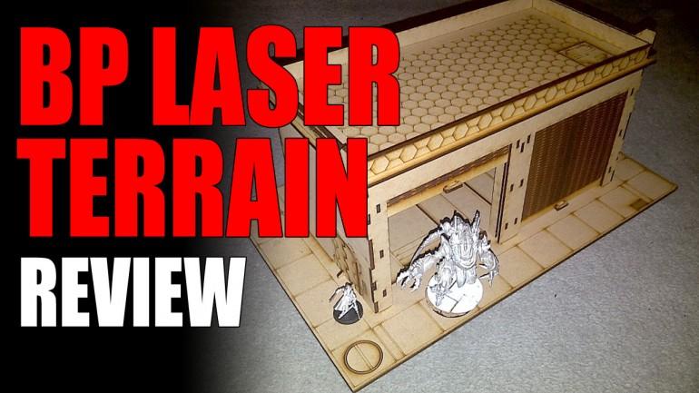 BP Laser MDF Terrain