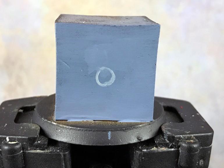 Ultramarine freehand basic shape