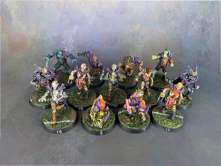Blood Bowl Necromantic Team #1