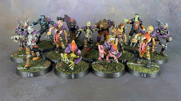 Blood Bowl Necromantic Team