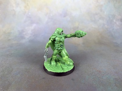 Sculpted Blood Bowl Coach #9