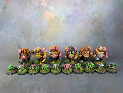 Blood Bowl Ogres #1