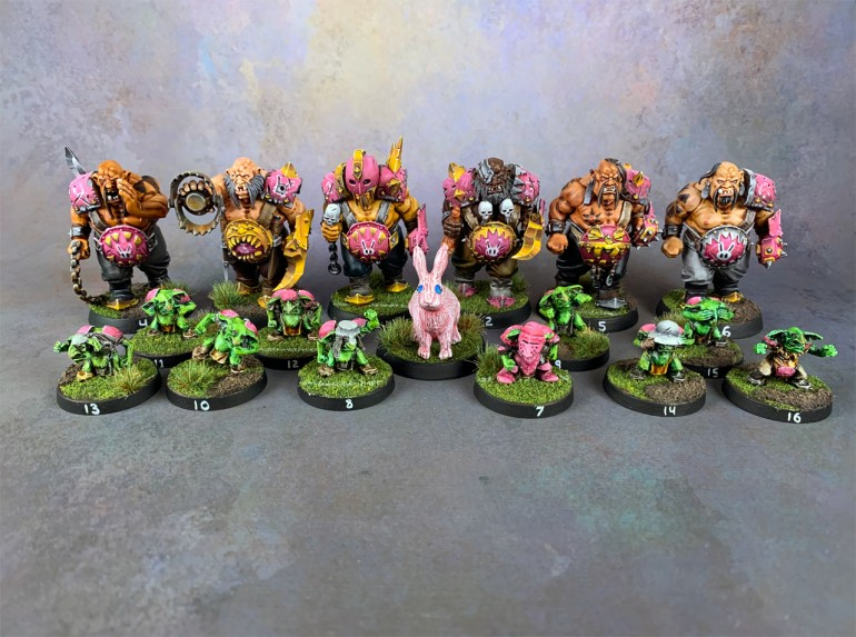 Blood Bowl Ogres #4