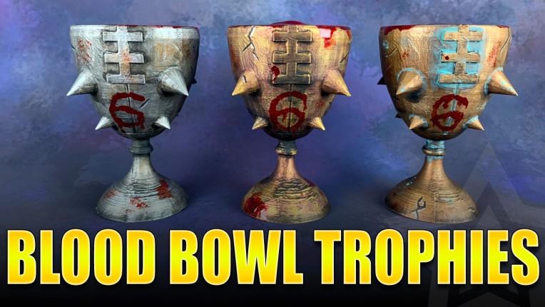Custom Blood Bowl Trophies