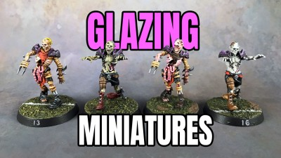 Glazing Miniatures