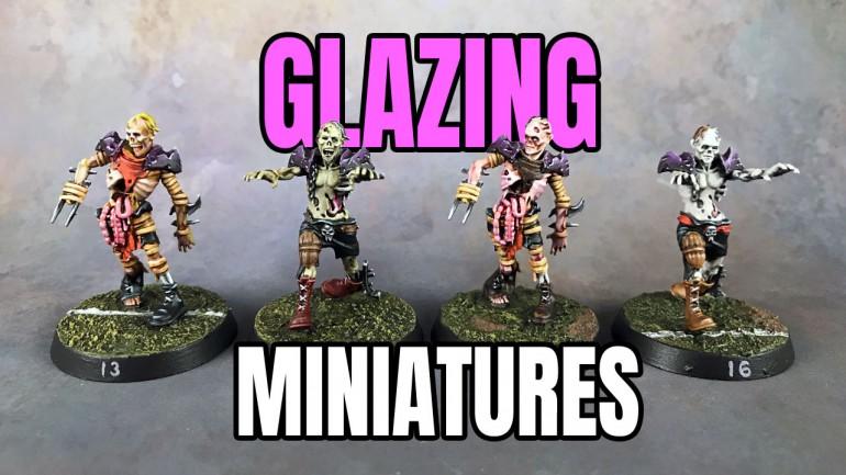 Glazing Miniatures Tutorial