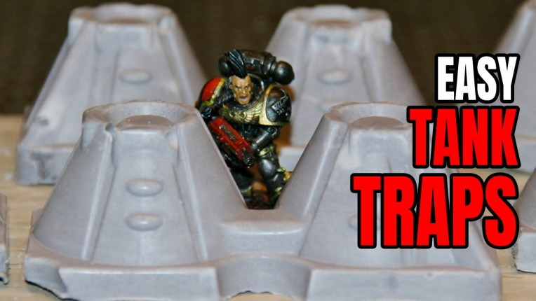 Miniature Tank Traps Tutorial