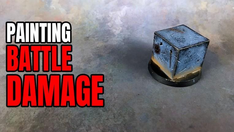 Painting Battle Damage & Weathering Tutorial
