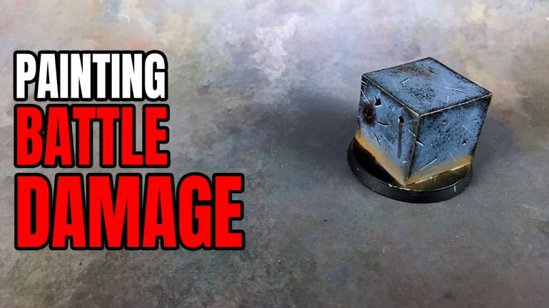 Painting Battle Damage & Weathering Tutorial