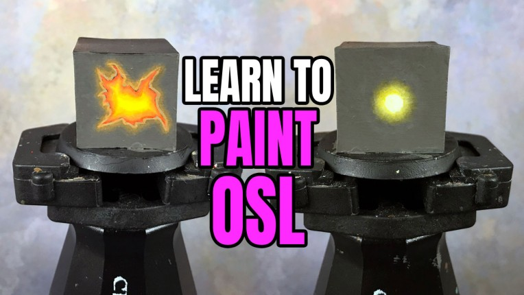 Painting OSL (Glow Effect) for Miniatures