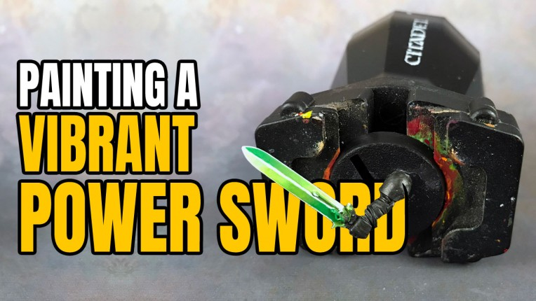 Power Sword Painting Tutorial