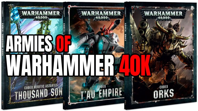 Warhammer 40K Armies/Factions