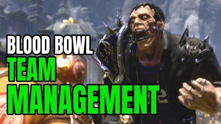 Blood Bowl Team Management