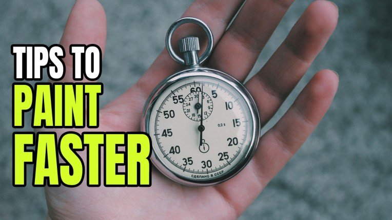 How to Paint Miniatures Faster