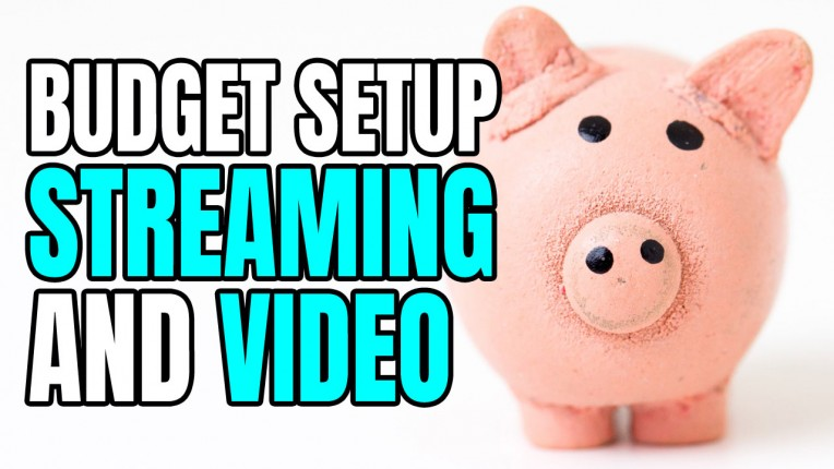 Budget Setup for Streaming & Video (Miniature Hobby)