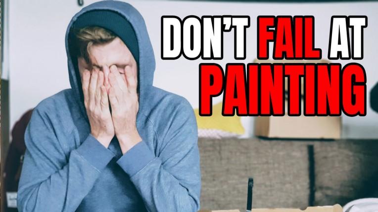 Miniature Painting Failure