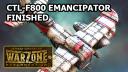 Warzone: Resurrection Emancipator Combat Aircraft Finished