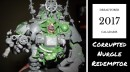 Dreadtober 2017 – Corrupted Nurgle Redemptor Dreadnought (Part 2)
