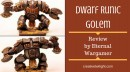 Dwarf Runic Golem from Alternative Armies Review