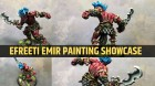 Efreeti Emir Painting Showcase