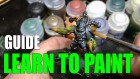 Painting Miniatures Tutorial