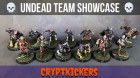Undead Blood Bowl Team Painted